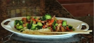 Broccoli & Mushroom Unstir Fried -Healthy Food Recipes