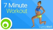Burn fat and tone your body with this 7 Minute Workout to lose weight fast
