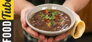 How to make Healthy Black Bean Soup in no time – Jamie Oliver