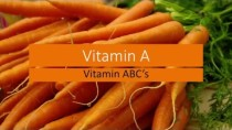 Vitamin A – Food Sources of Vitamin A