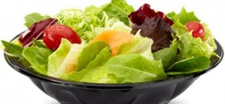 Zero Calories – Fresh Vegetables and Fruit Salad – Low Fat Healthy Nutritious Food