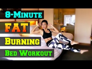 8 Minute Fat Burning workout in bed