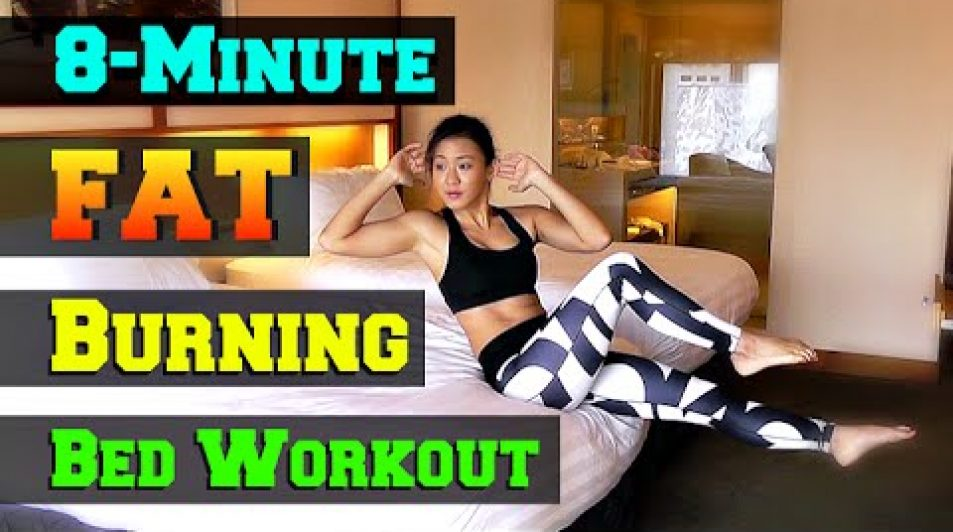Short & Effective 8 Minute Fat Burning BED Workout