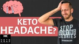 The Ketogenic Diet Headache | Side Effects of a Keto Diet