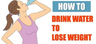 Good Recipes For Women: How to drink water to lose weight by @HealthyLife