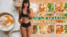HIGH PROTEIN meals for fat loss